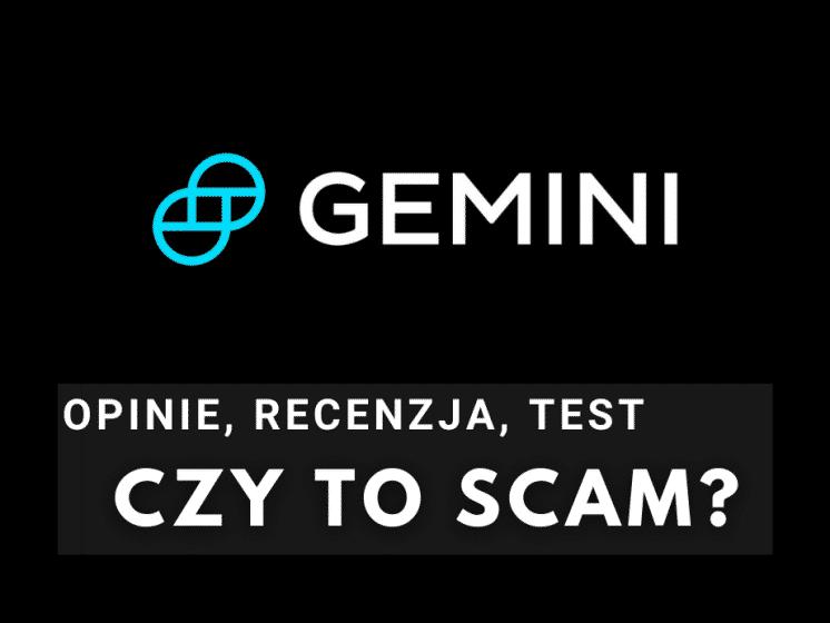 Bitcoin Gemini opinie
